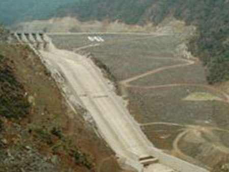 Construction of Bursa Çinarcik Dam
