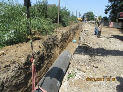 Samsun 7th District Directorate for State Hydraulic Works, Distribution 19 Mayis Dam Line Construction Work